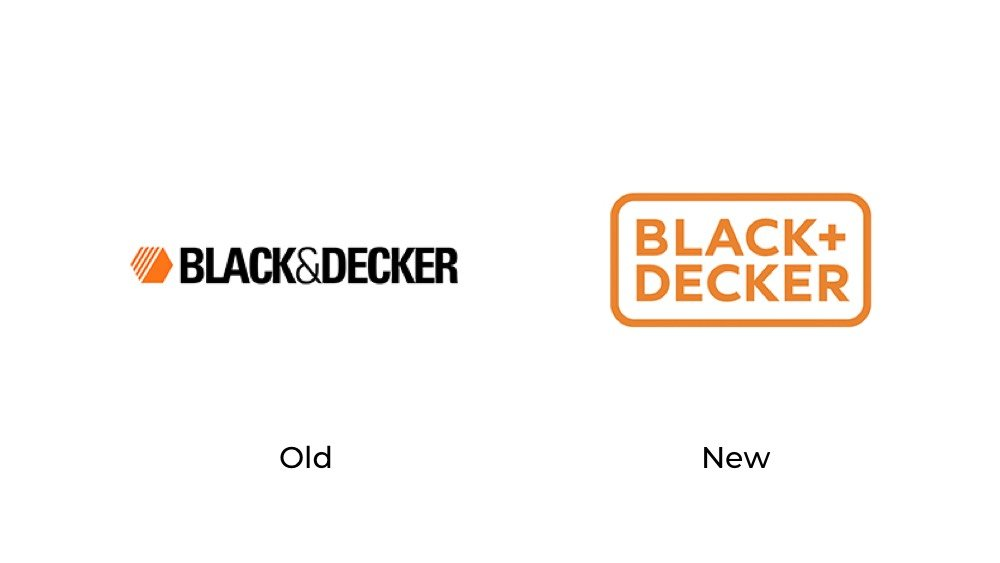 Black & Decker logo redesign