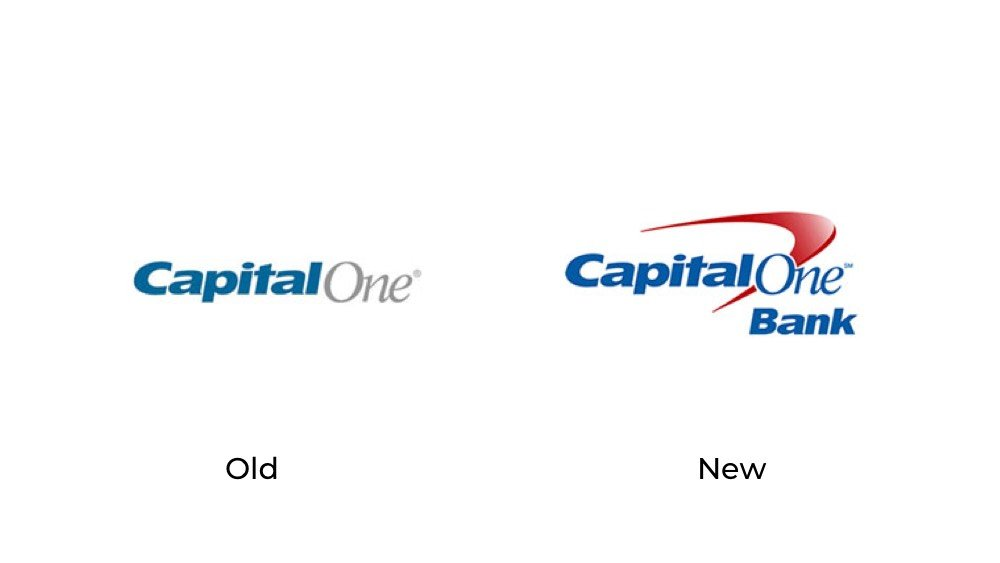 Capital One logo redesign