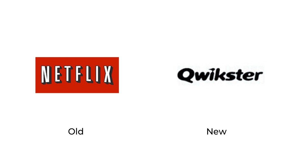 Netflix old new logo