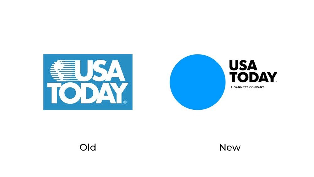 USA Today logo redesign