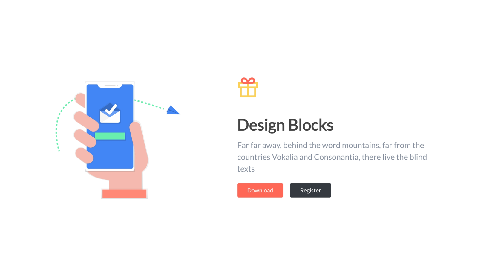 No design Froala Design Blocks