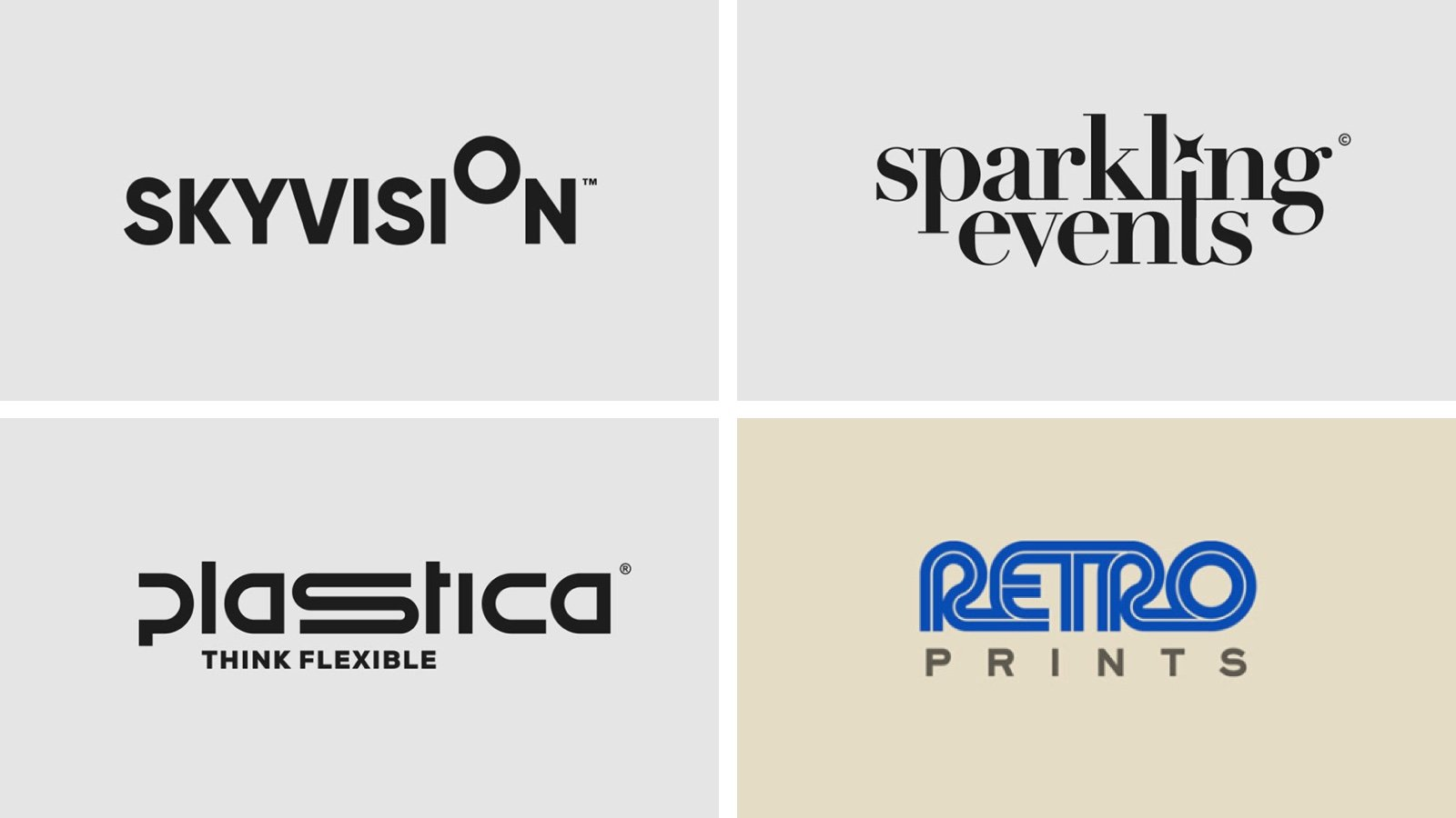 Some of the best clever logotypes I've seen