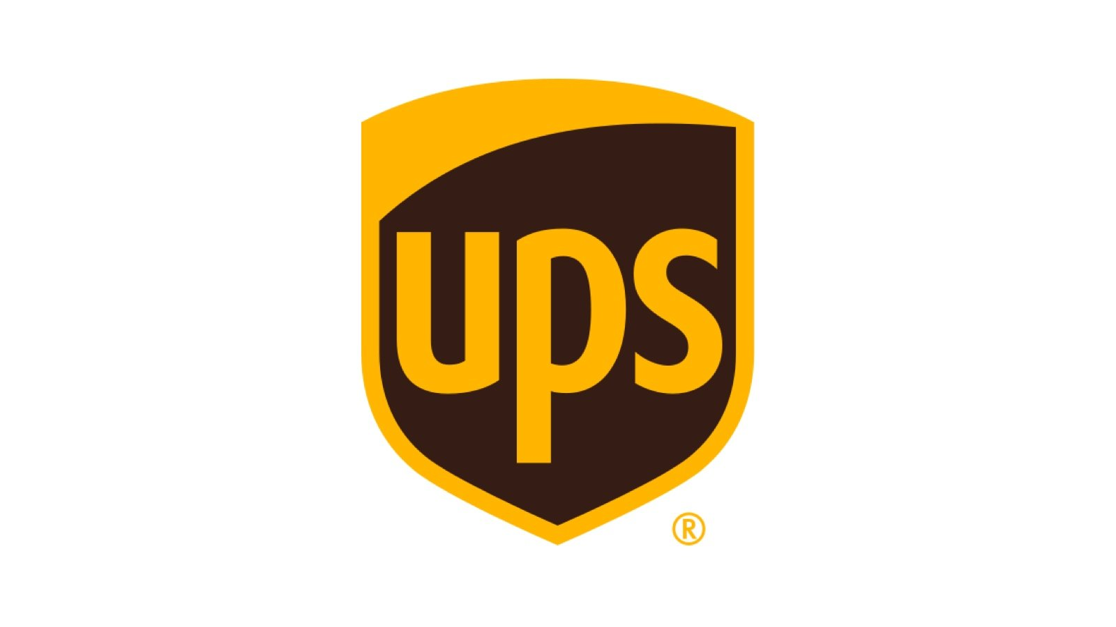 Brown UPS logo