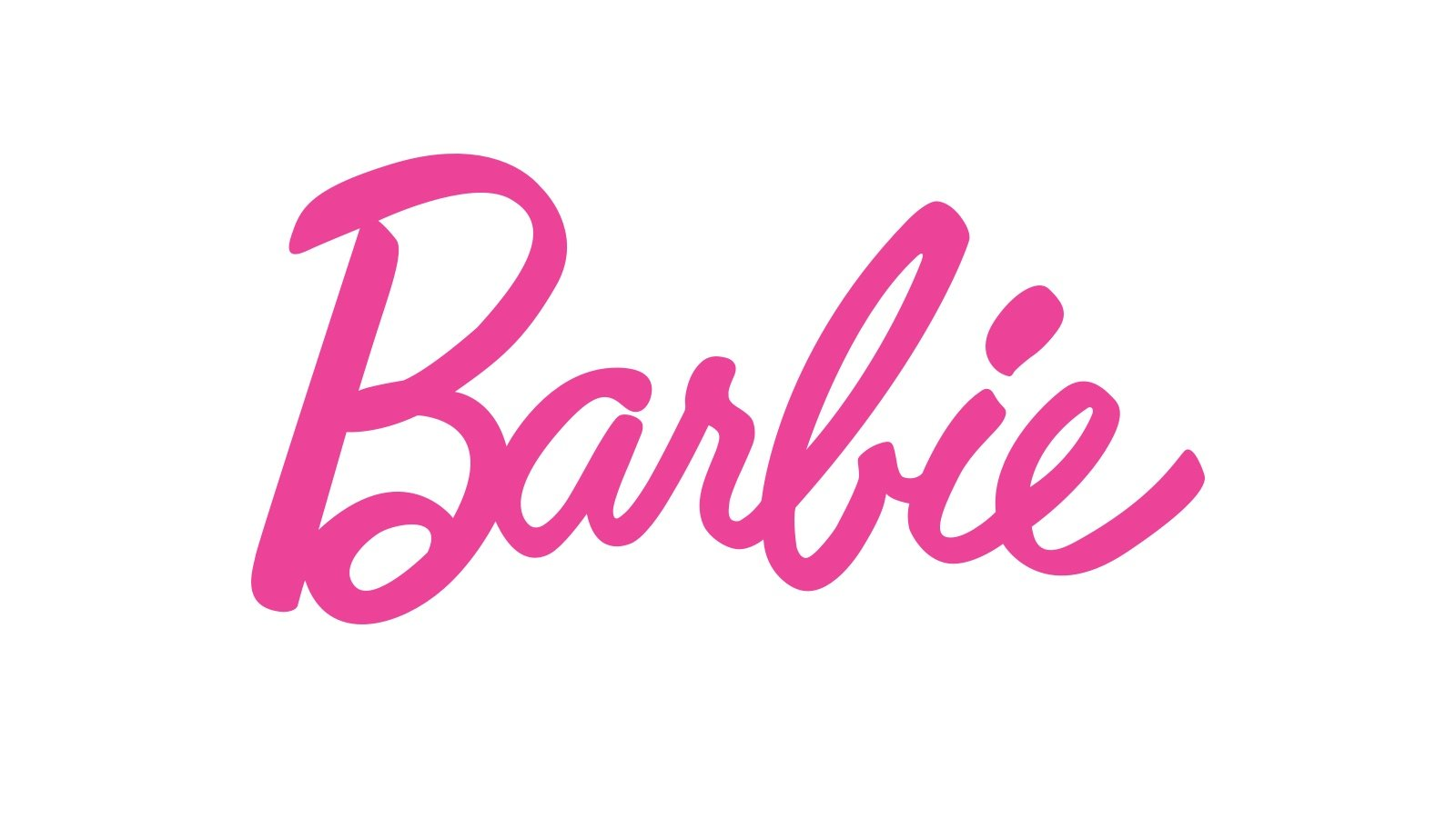 Pink Barbie logo