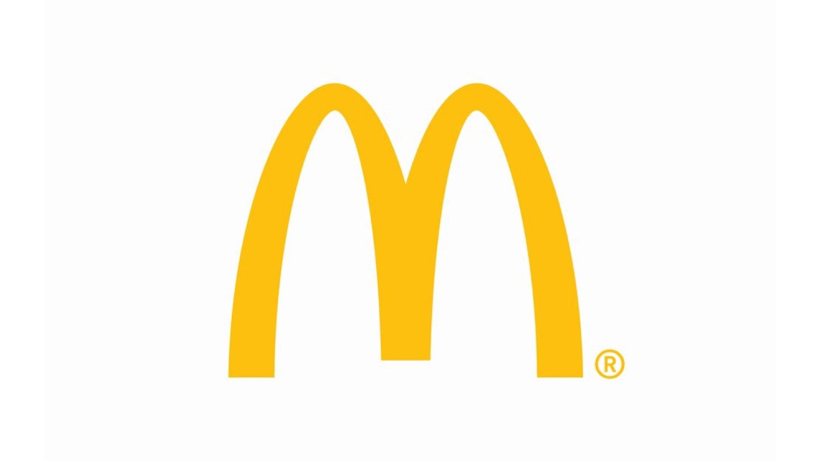 Yellow McDonalds logo