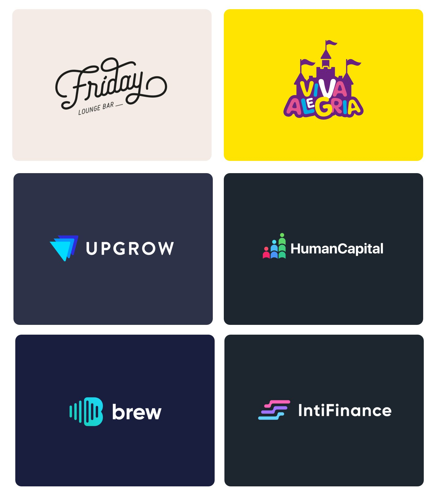 cool logo designs and examples