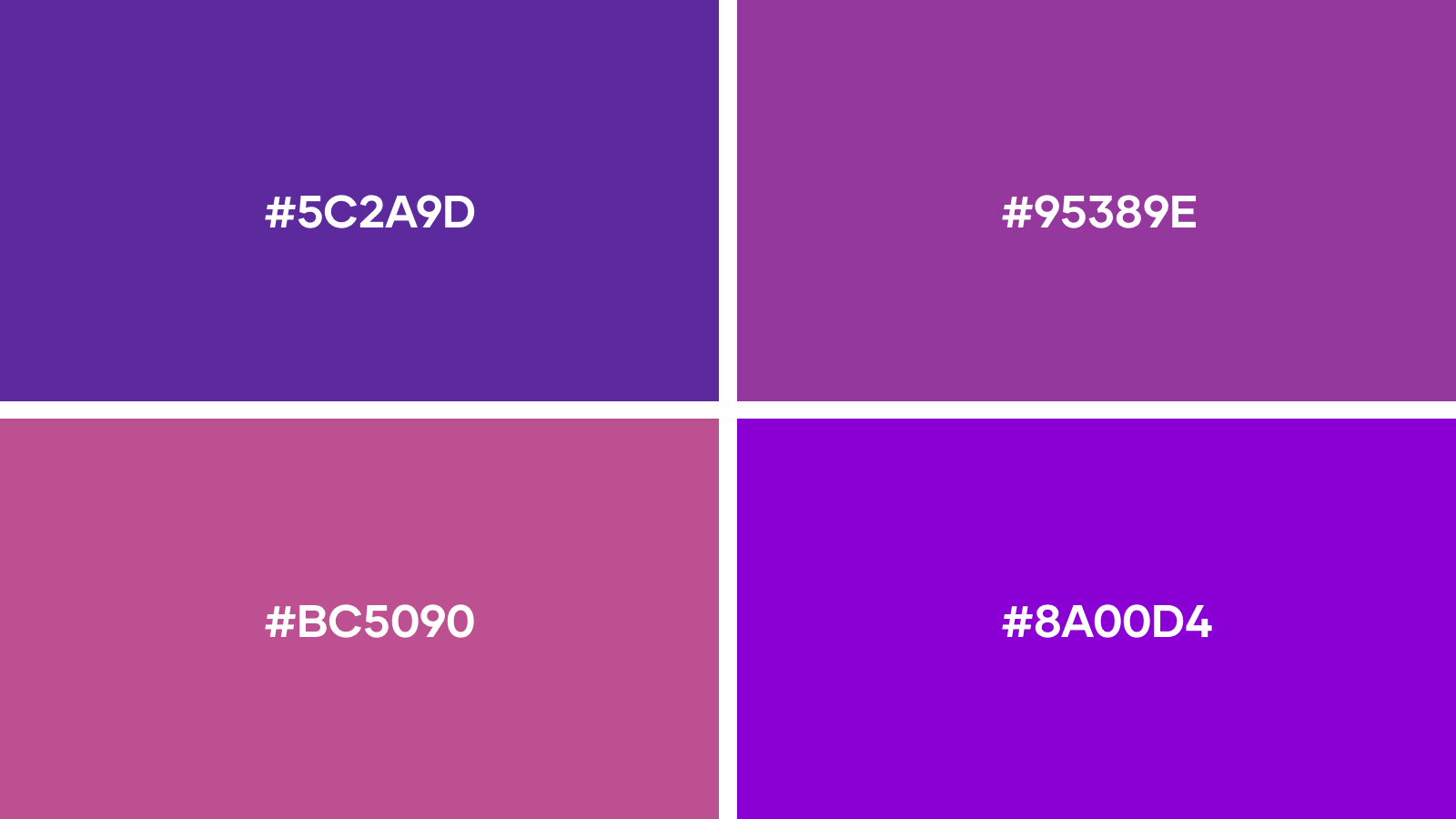 favourite purple logo colors